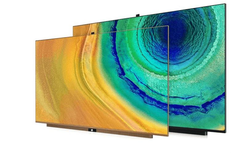 Smart TVs with a pop-up camera