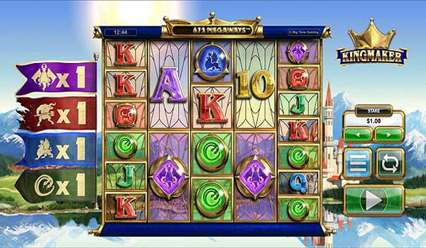 Main Gratis Slot Indonesia - Kingmaker Megaways (Big Time Gaming)