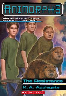 A boy (Jake) turns into a beaver