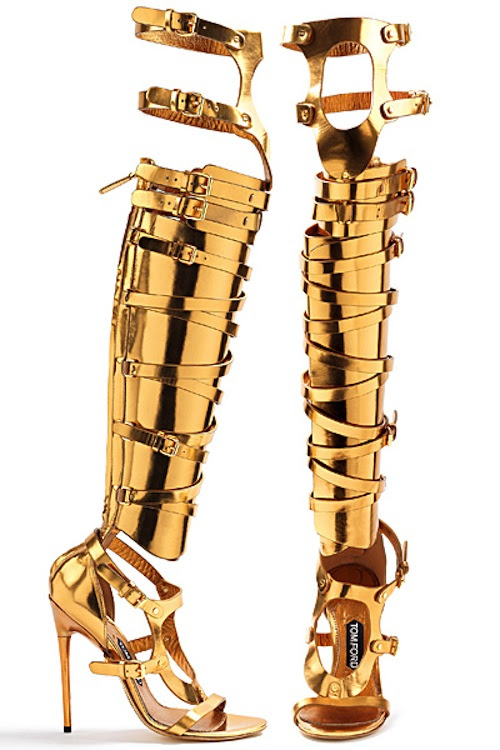Tom Ford - Gladiator boots - summer 2013