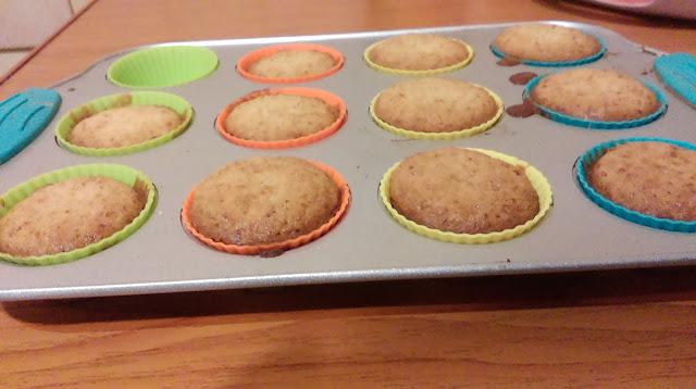 muffiny bez cukru i mąki