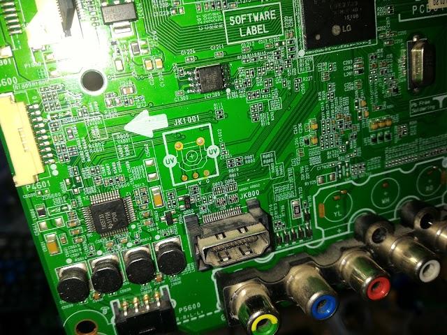 MX25L8005 -  Bios TV LG 49LF5400 - Original
