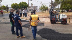 Administração da Ceilândia continua com a Operação Buraco Zero contemplando toda a cidade