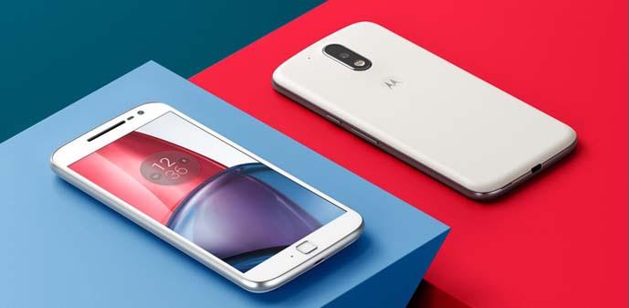 HP Android Nougat - Motorola Moto G4 Plus