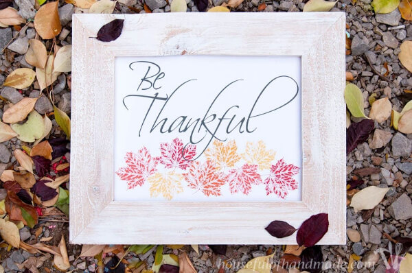 Thanksgiving art free printable