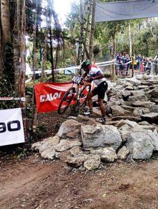 Colombense é destaque no Campeonato Brasileiro de Mountain Bike XCO