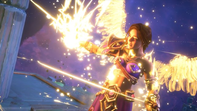 Collect lightning to give you an advantage in the fight against Typhon!