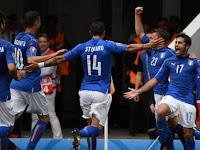 Singkirkan 'Tim Matador', Italia Jumpa Jerman di Perempatfinal
