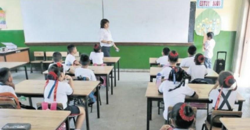 Desde hoy las DRE aplican descuento a maestros que no retornen a las aulas