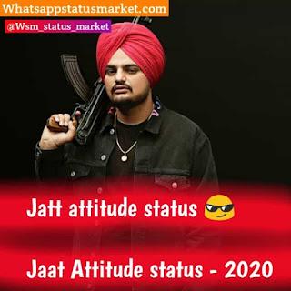 Jatt Attitude status 2020