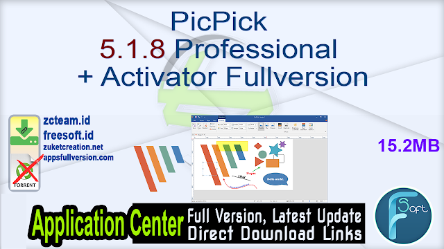 PicPick 5.1.8 Professional + Activator Fullversion