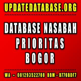 Jual Database Nasabah Bogor