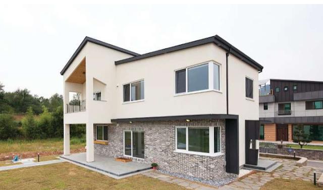 model rumah desa terbaru,contoh rumah sederhana terbaru