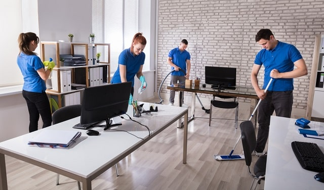 why hire commercial cleaning services professional business office cleaner company