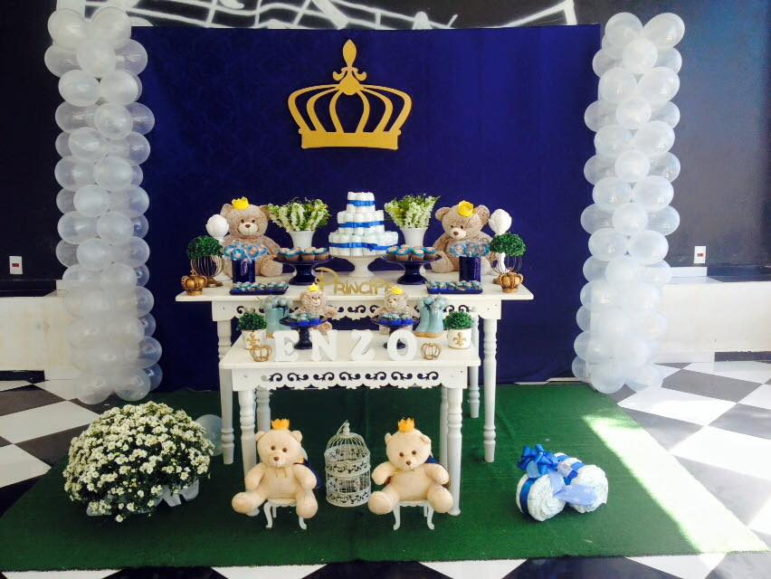 Kika Festas E Decorações Infantil Campinas Chá De Bebe Provençal Enzo