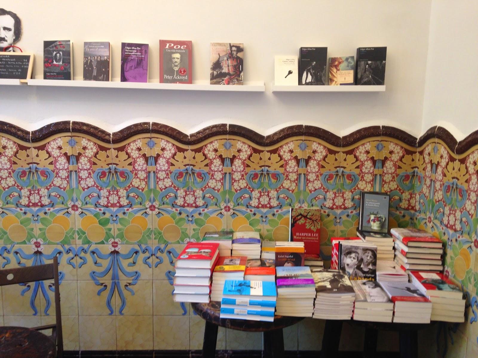 Boulevard literario La libreria CASA USHER
