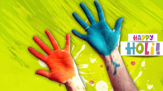 Facebook cover of holi 2016