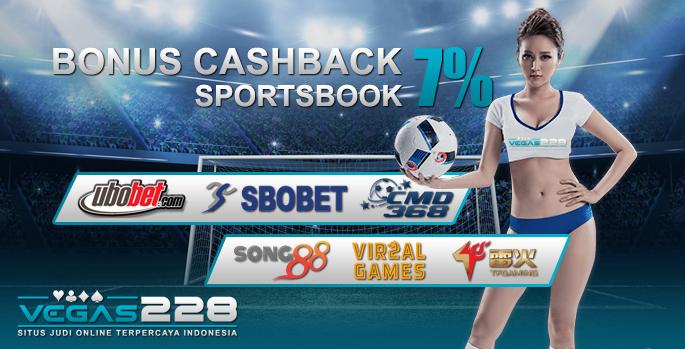 Bonus Cashback Vegas228
