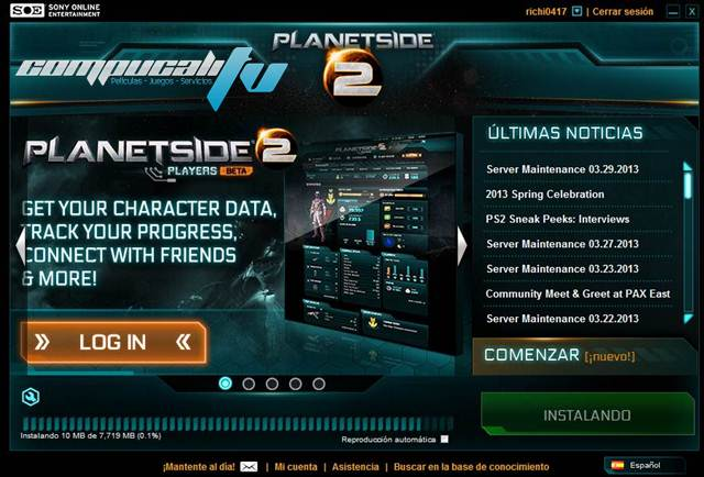 Planetside 2 PC Multiplayer Online