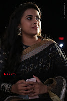 Actress Sri Divya Latest Pos in Black Saree at Sangili Bungili Kathava Thora Tamil Movie Audio Launch  0005.jpg