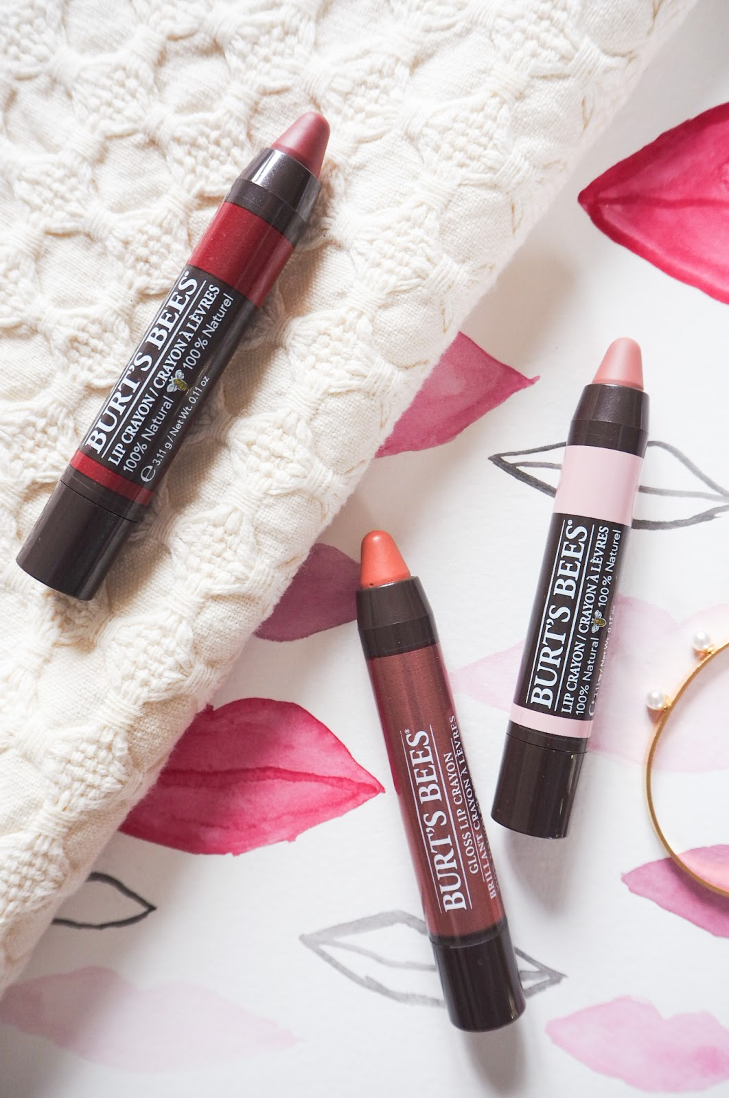 Burts Bees Lip Crayon Review