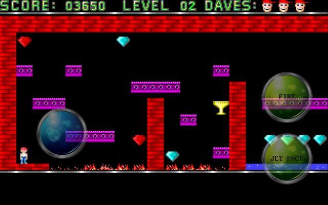 لعبة Dangerous Dave