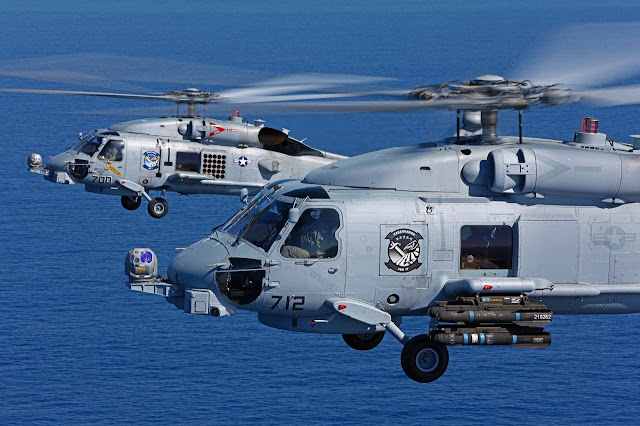 EEUU desplegará un escuadrón de helicópteros en Rota y relevará los destructores actuales con otros buques