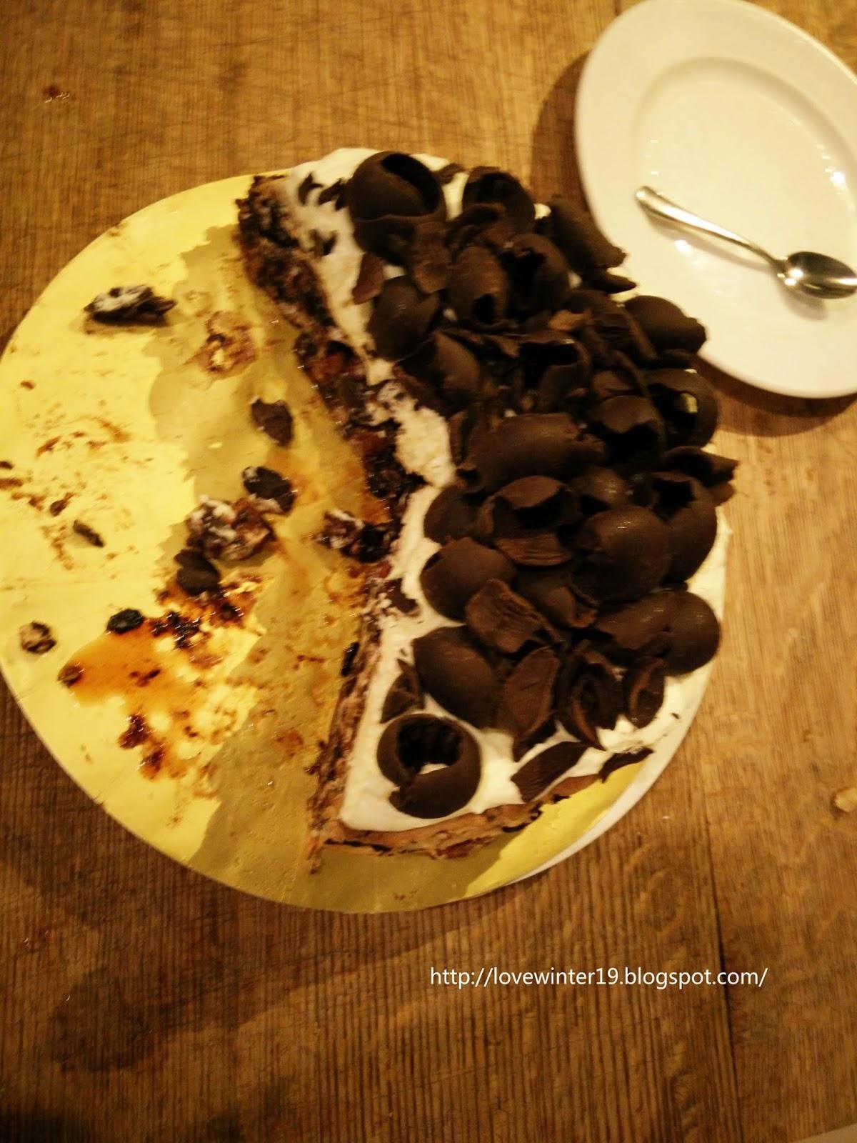 Nutella Cake Decoration