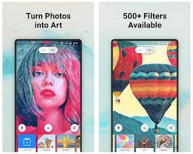 Prisma App Features