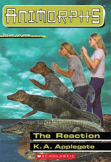 A girl (Rachel) turns into a crocodile