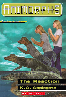 A girl (Rachel) turns into a crocodile