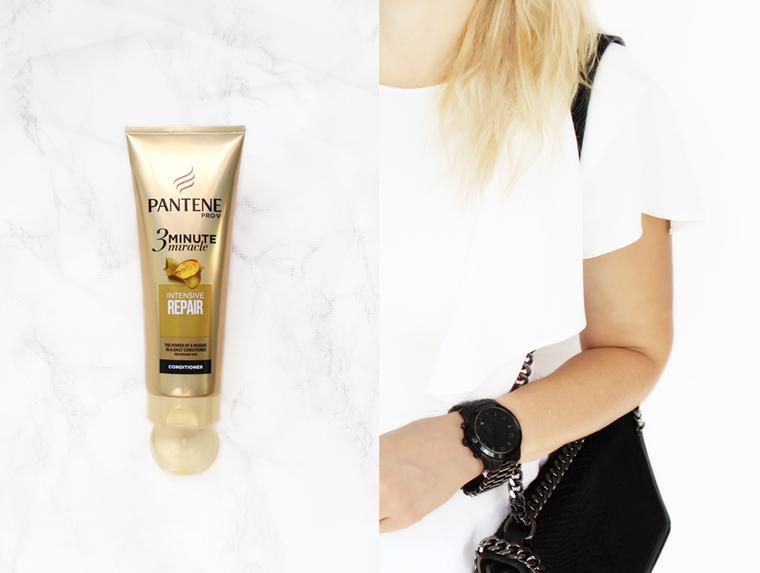 Odżywka do włosów Pantene 3 Minute Miracle Intensive Repair efekty