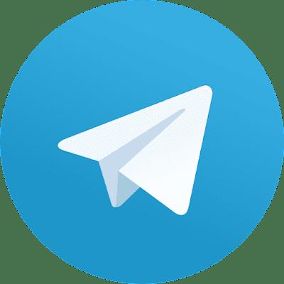 صورة لشعار تليجرام بدون خلفية بصيغة png