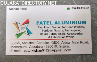PATEL ALUMINIUM - 9574341402