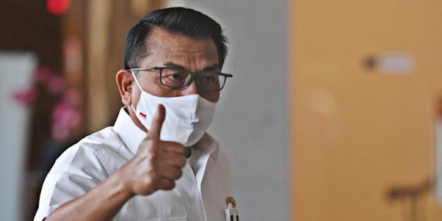 Moeldoko Bisa Jadi Gelandangan Politik Kalau Posisinya Digusur Ali Ngabalin