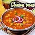 Chana masala and methi poori