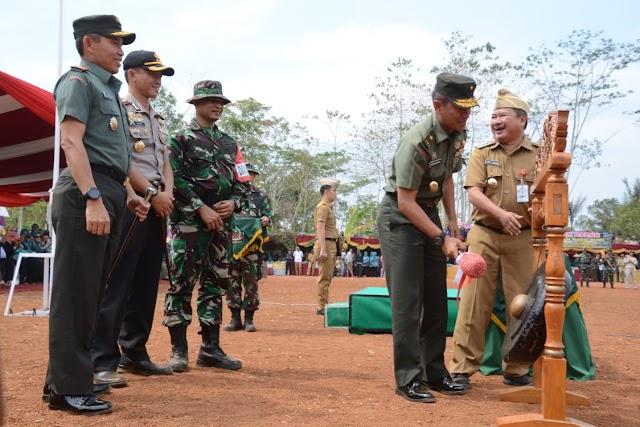 """TMMD ke -103/2018 di Garut, """"Mewujudkan Desa Maju, Sejahtera Dan Demokratis"""""""
