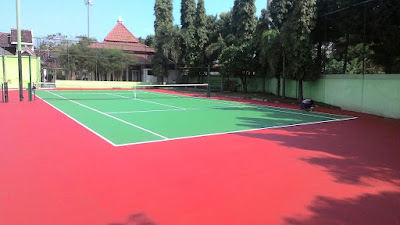 Jasa Pembuatan Lapangan Olahraga Tenis Profesional