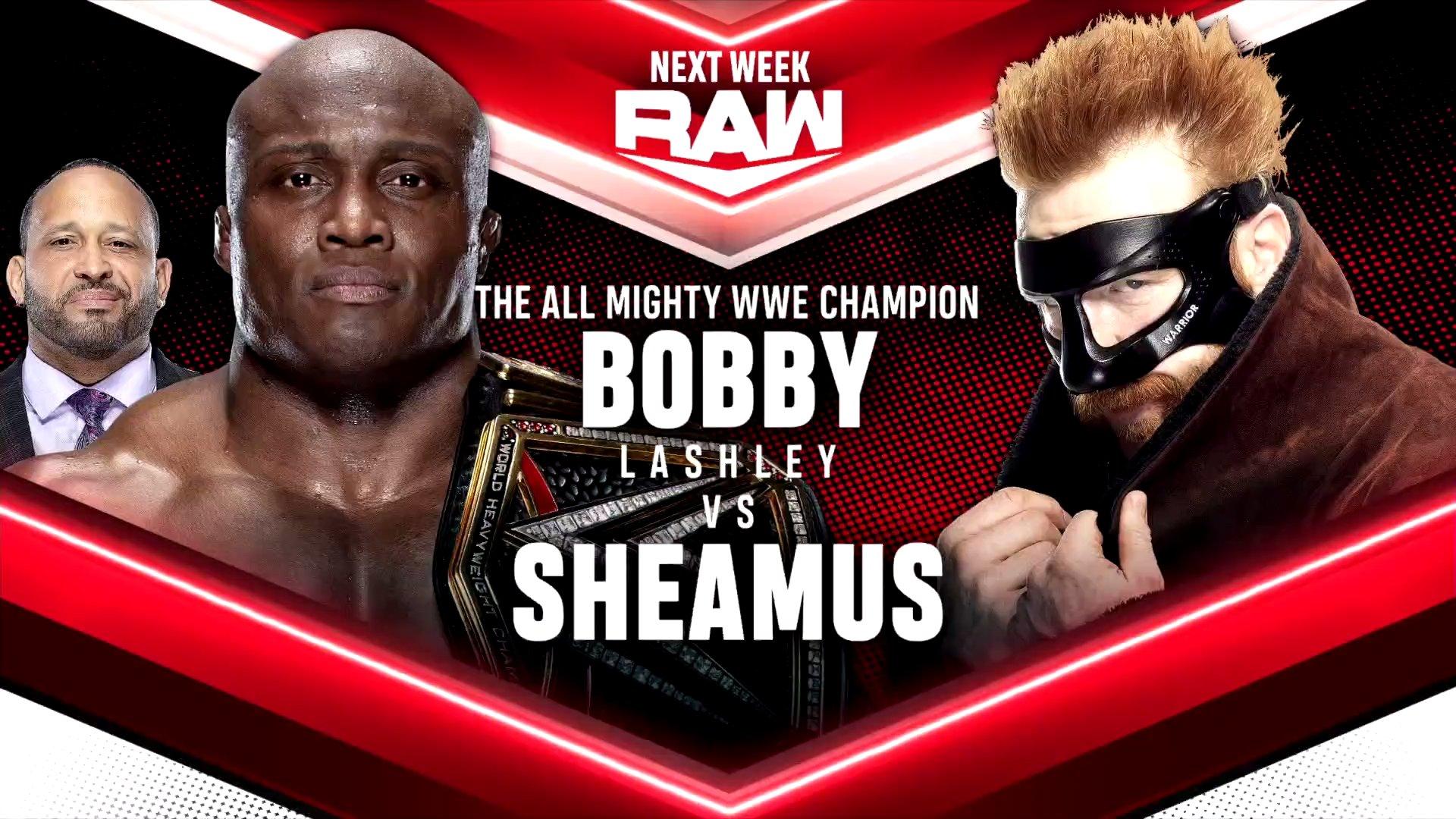 Três grandes combates são anunciados para o próximo WWE RAW
