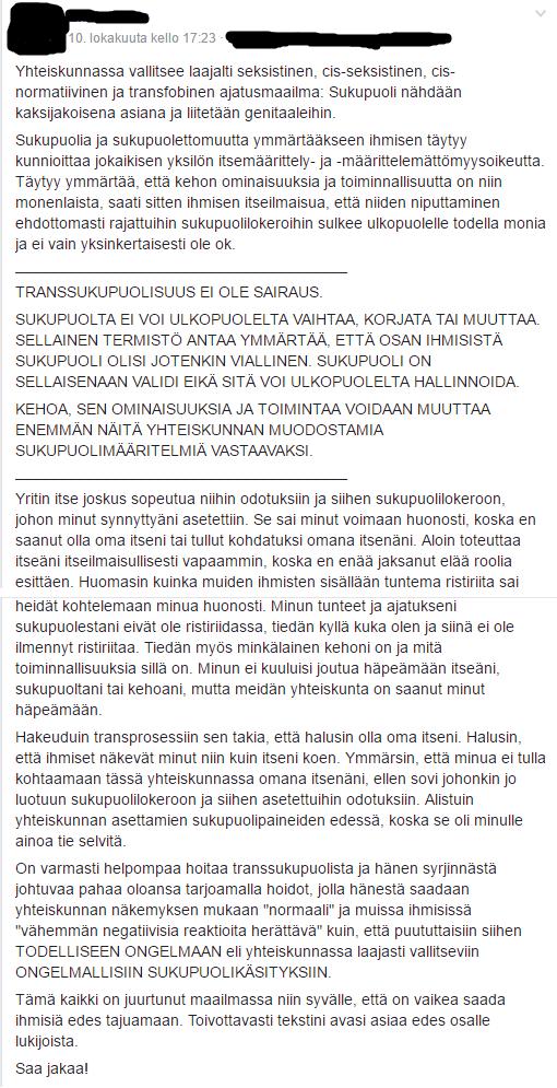 Toisenlainen transblogi  2016 4ebf5e6e50