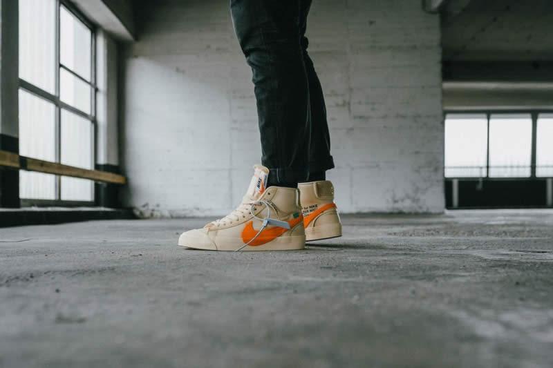 pretty nice d47b7 e027e AnpKick Brand Street Footwear  Nike Blazer Mid Off-White