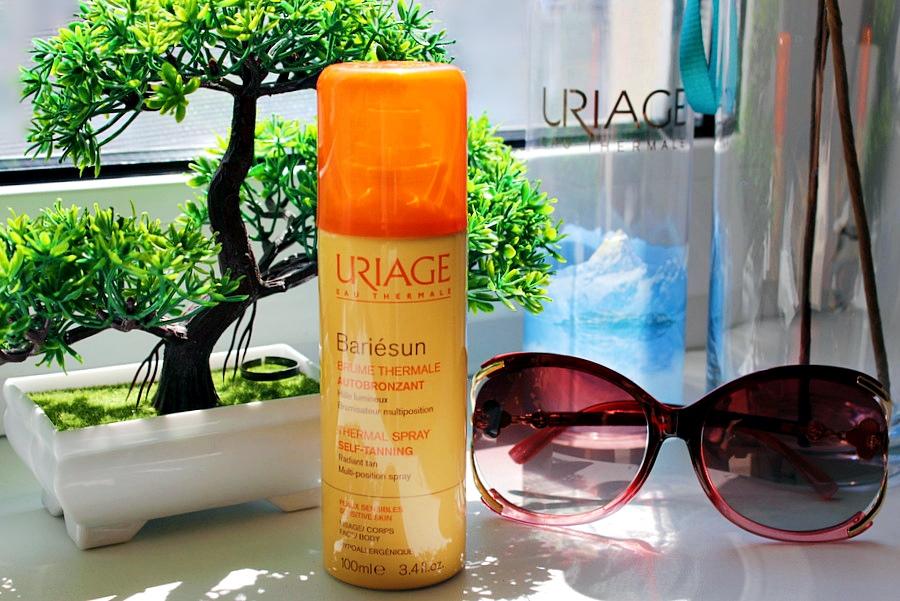 Идеальный спрей-автобронзат для чувствительной кожи Барьесан Uriage Bariesun Self-Tanning Spray / обзор, отзывы