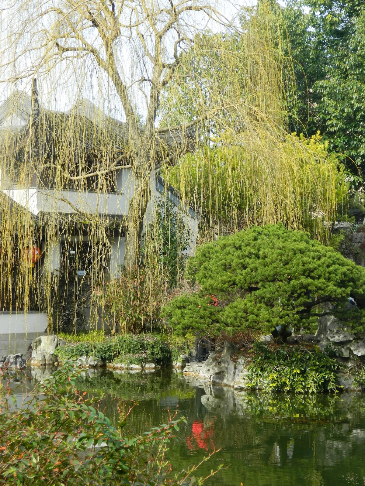 Chinese Garden A Photo From Guangdong South: GardenEnvy: Portland's Chinese Garden Sows Good Fortune