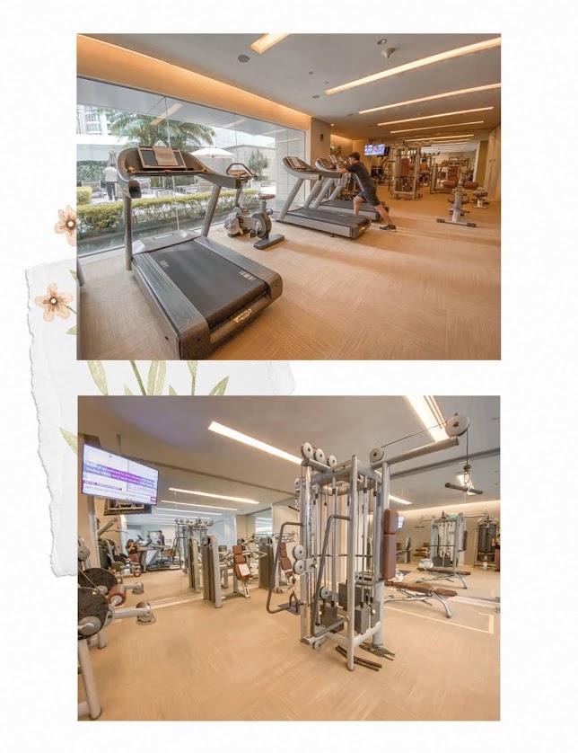 st regis staycation fitness centre