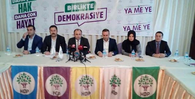 HDP'den Cevheri'ye destek açıklaması
