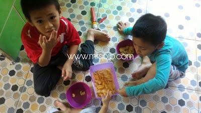 Resepi homemade keropok cheezy popiah goreng