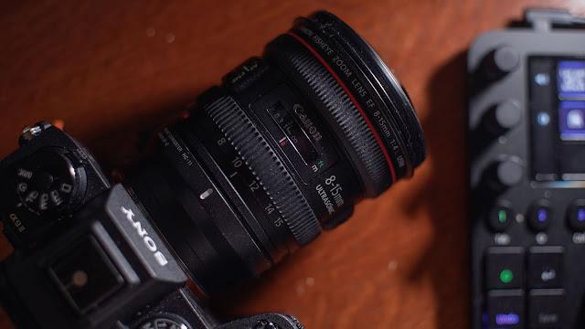 Adaptor Sigma MC-11 pada Sony a9 II dengan Canon EF 8-15mm Fish-Eye Lens