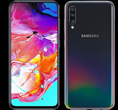 Samsung Galaxy A70 Phone Security Details Galaxy A70 Phone Colour