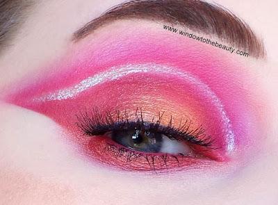 Juvia's Place red makeup
