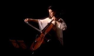 Sonia Wieder-Atherton playing cello